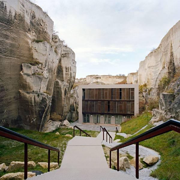 تبدیل معدن سنگ سنت مارگارتن به فضای باز عمومی