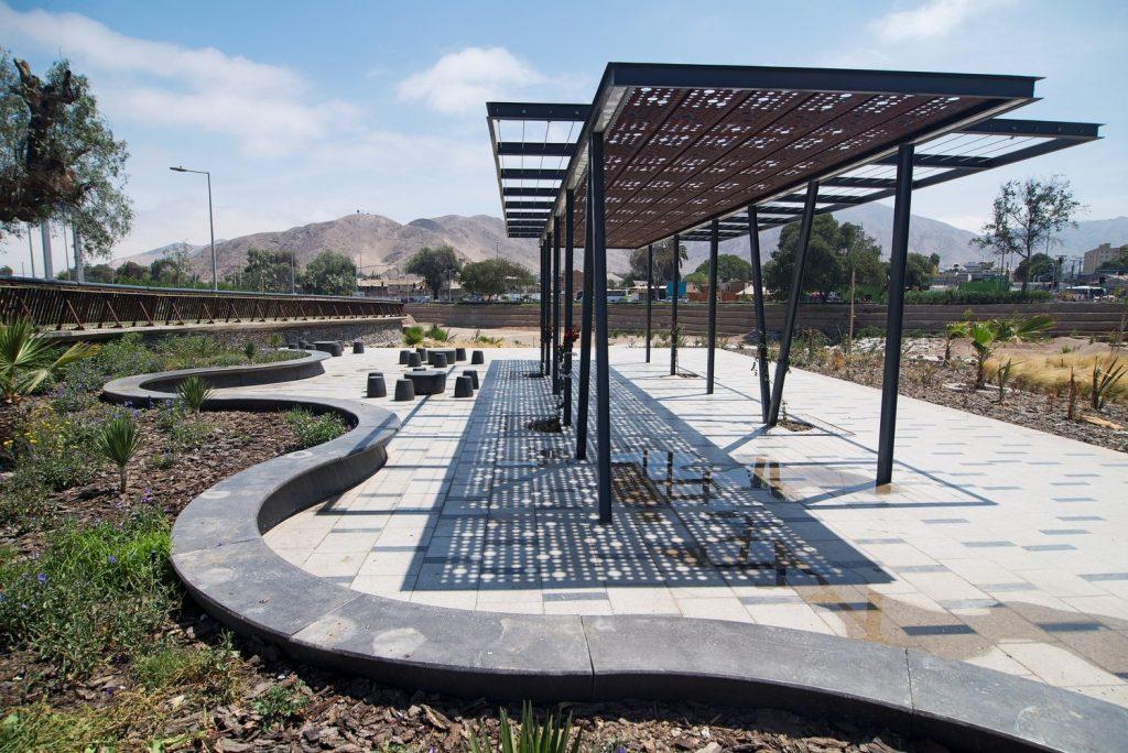 طراحی پارک های سبز در شهرهای کویری