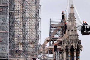بازسازی مناره کلیسای نوتردام با طراحی مدرن منتفی شد!