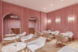 طراحی داخلی مغازه شیرینی فروشی برند NANAN