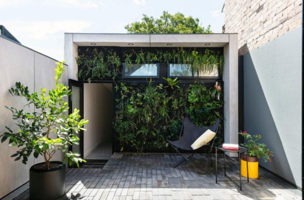 تاثیر دیوار سبز بر کاهش اثر جزیره گرمایی شهری