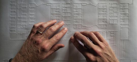 به بهانه روز جهانی نابینایان ؛ کریس داونی ، معمار نابینا