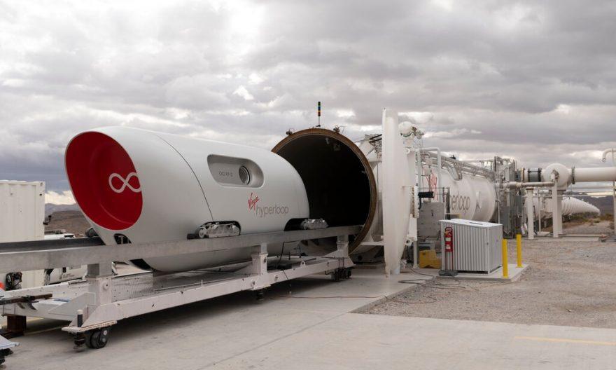 گروه معماران BIG و همکاری با سیستم حمل و نقل فوق سریع ویرجین هایپرلوپ
