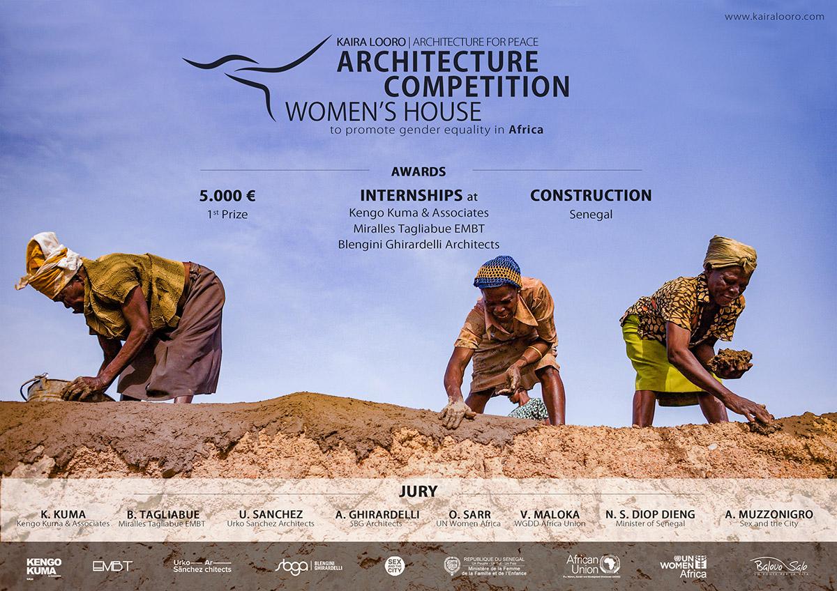 فراخوان مسابقه طراحی خانه زنان در آفریقا در سال 2021 منتشر شد!
