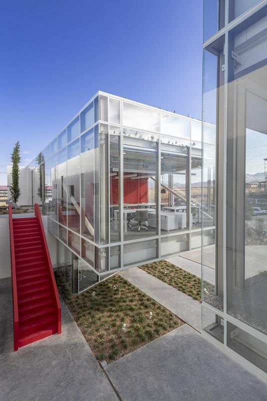 کارخانه شمیم پلیمر   معمار: داوود بروجنی